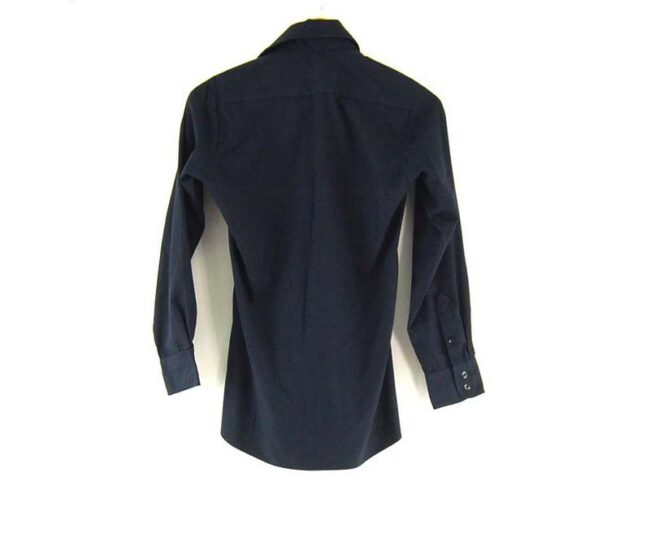 Back of Hanover Uniform Co. Work Shirt
