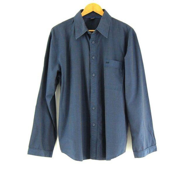 Blue Long Sleeve JOOP Shirt