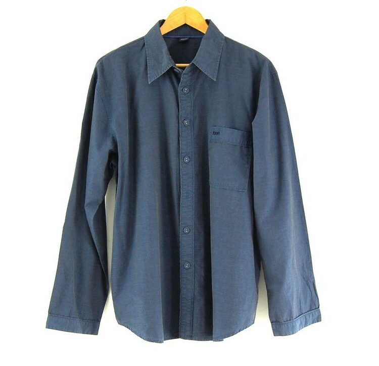 Blue Long Sleeve JOOP Shirt