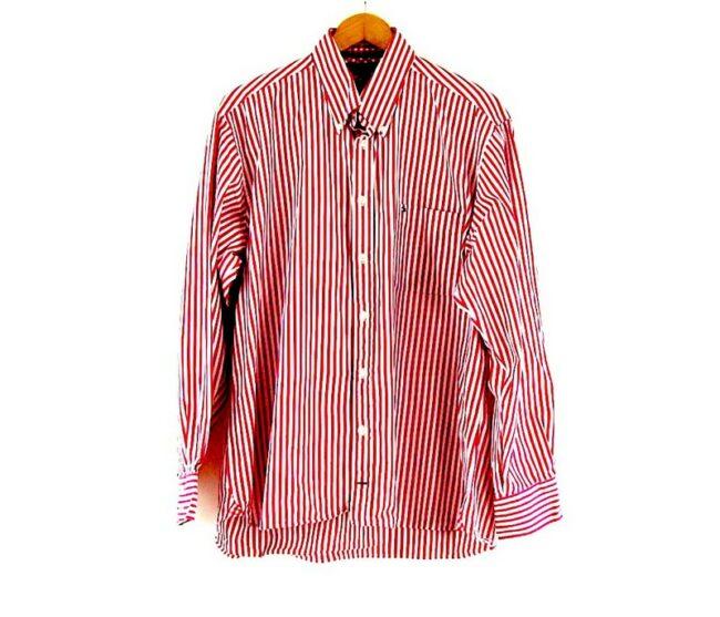 Button Down Tommy Hilfiger Pink Striped Shirt