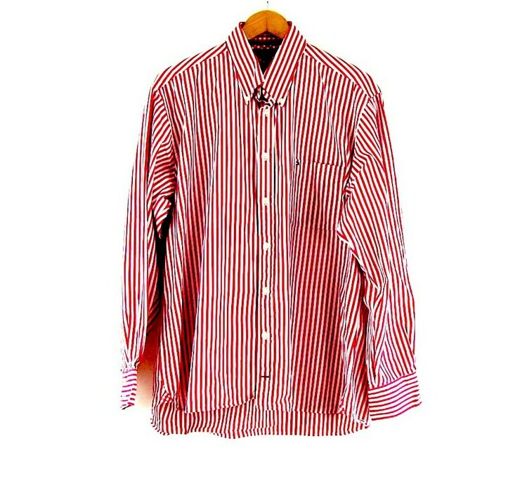 Button Down Tommy Hilfiger Pink Striped Shirt