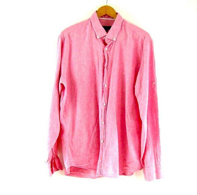 Pink Armani Jeans Shirt