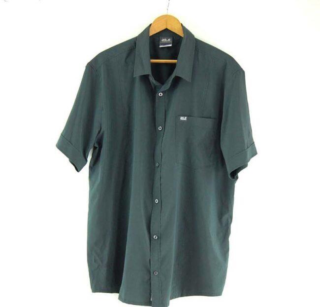 Short Sleeve Grey Jack Wolfskin Shirt