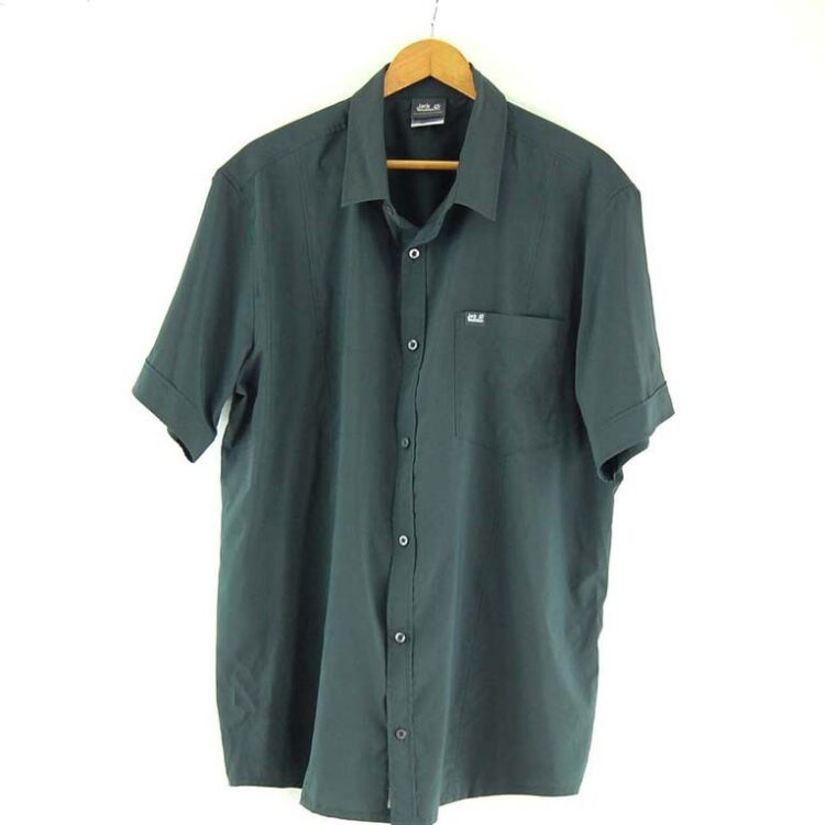 Short Sleeve Grey Jack Wolfskin Shirt