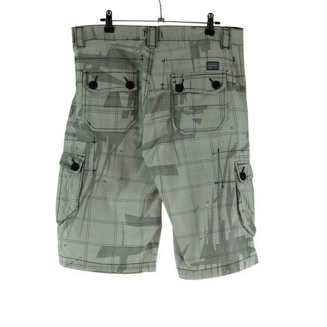 Back of G-star Mens Cargo Shorts