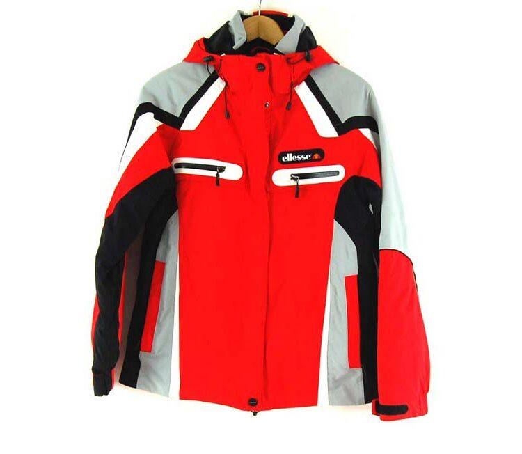 Goretex Red Ellesse Jacket