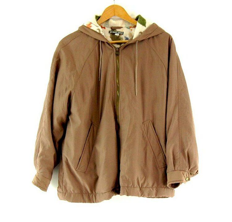 Naf Naf Hooded Jacket