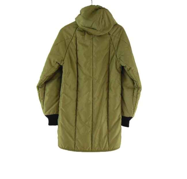 Back of Refrigiwear Quilted Parka Coat