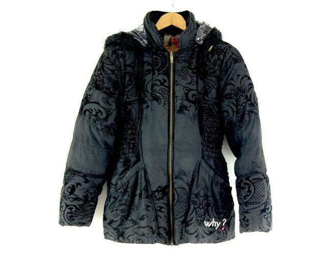 Desigual Belted Puffa Jacket