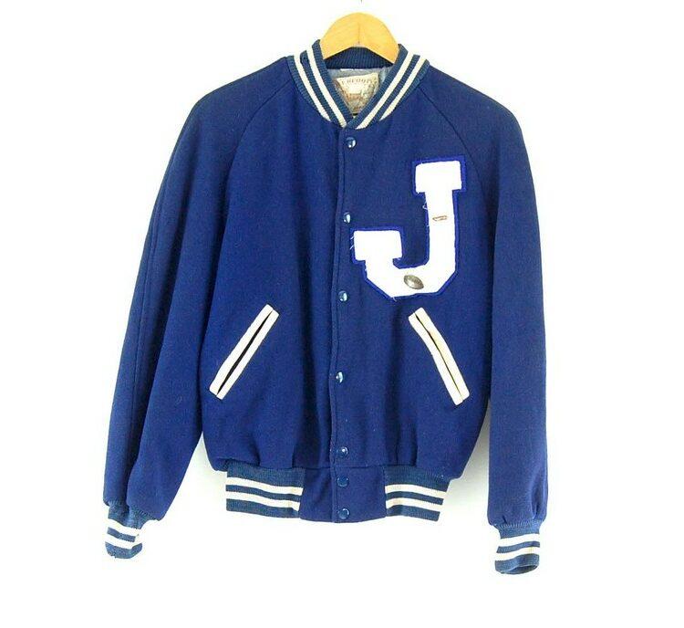 Deerfoot Blue Varsity Jacket