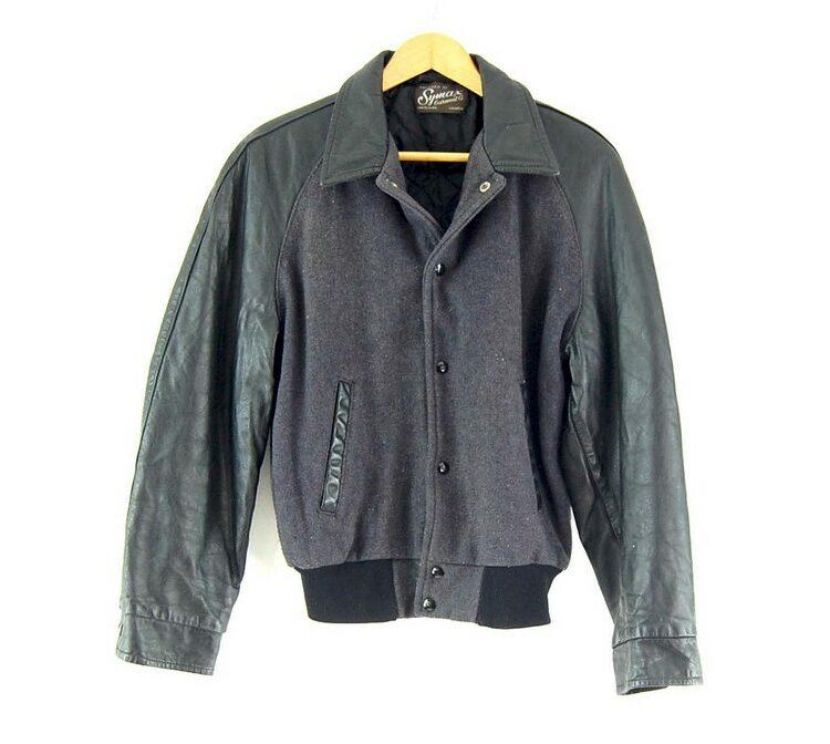 Symax Garment Co. Leather Varsity Jacket