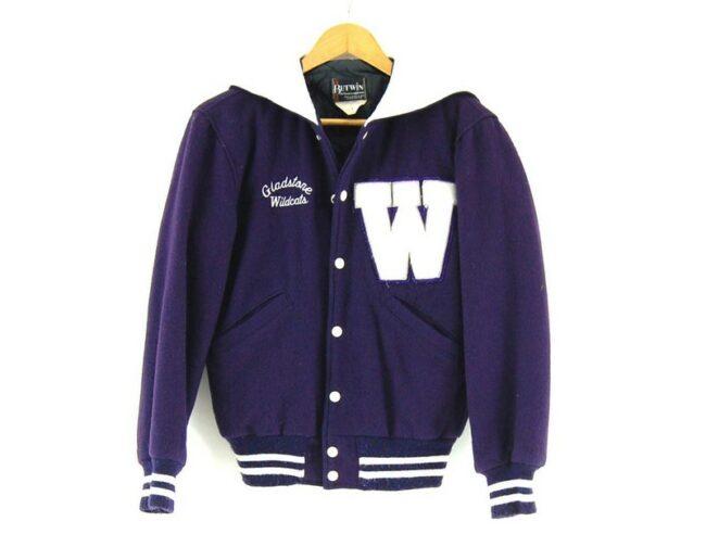 Butwin Purple Varsity Jacket
