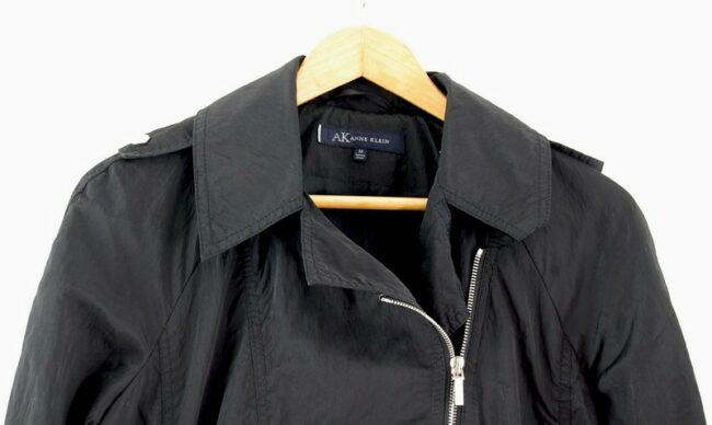 Close up Back of Anne Klein Belted Jacket