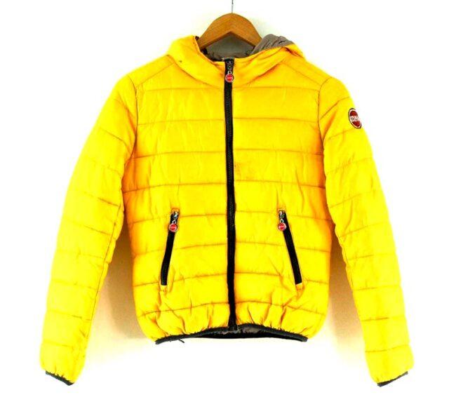 Colmar Puffa Jacket Yellow