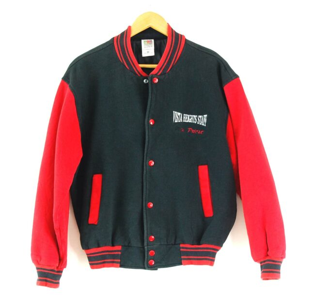 Vista Heights Staff Cotton Baseball Jacket