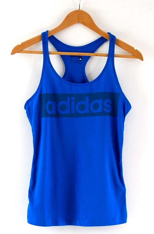 Mens Adidas Blue Vest