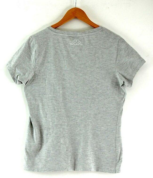 Back of Womens Grey Kappa Sports T Shirt
