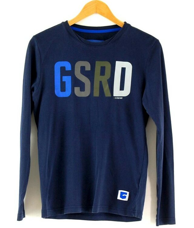 Blue G Star Raw Tee