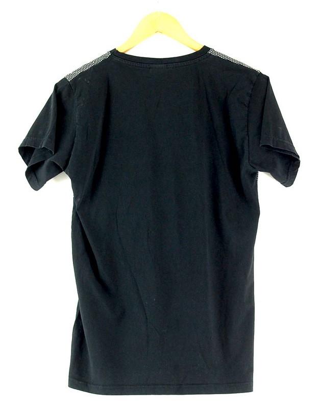 Back of Mens Hugo Boss Black Tshirt