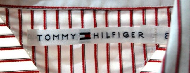 Close up of Tommy Hilfiger Womens Shirt