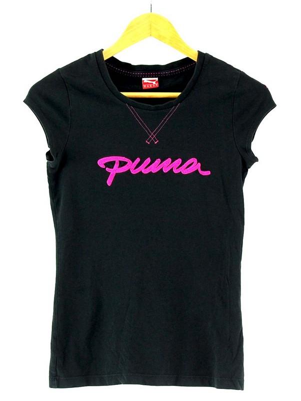 Womens Puma Black Tshirt
