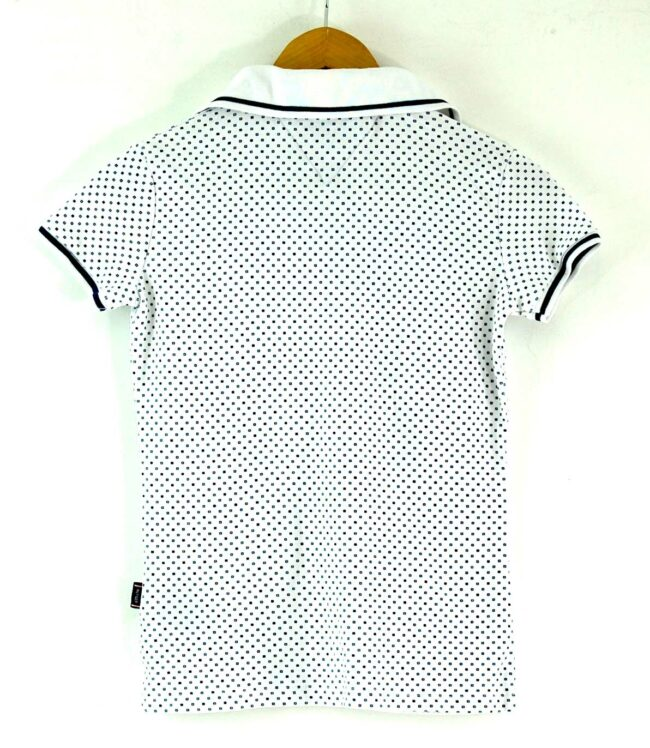 Back of Tommy Hilfiger Womens White Polo