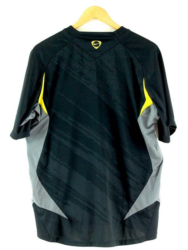 Back of Mens Nike Dri Fit Black Tshirt