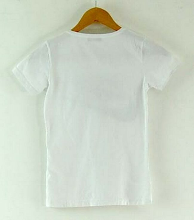 Back of Womens Nike Tshirt White