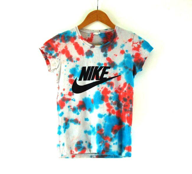 Womens Nike Tie Dye Tshirt