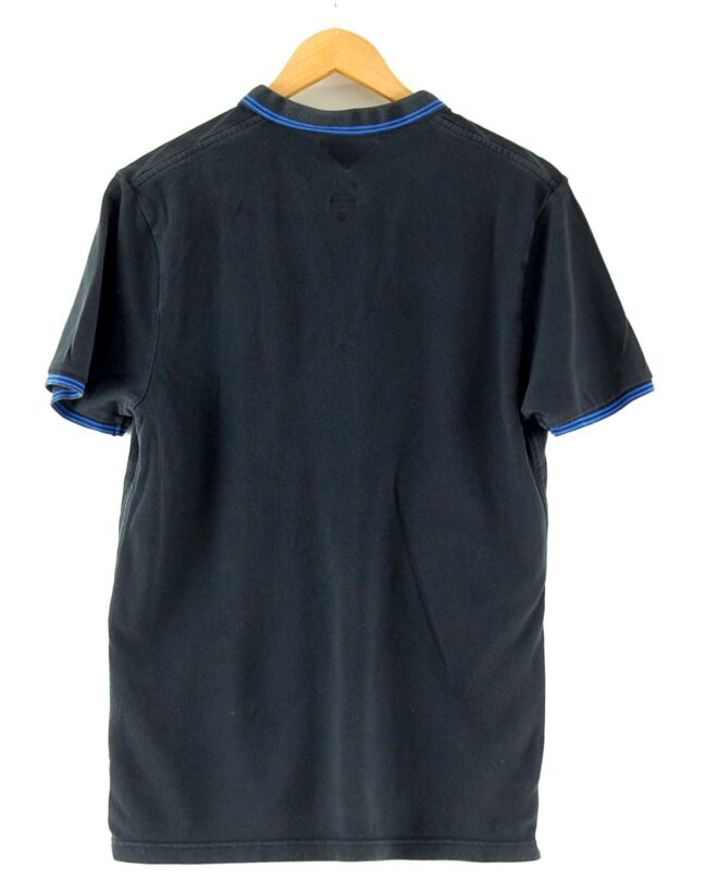 Back of NFL Black Nike Polo Shirt