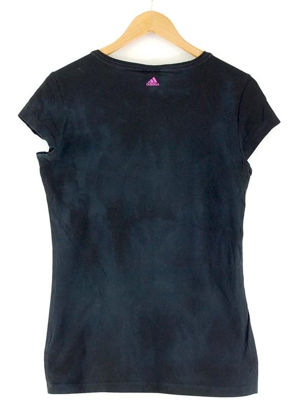 Back of Adidas Black Tshirt Women