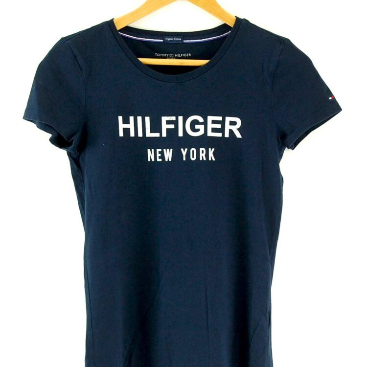 Blue Womens Tommy Hilfiger New York Tshirt