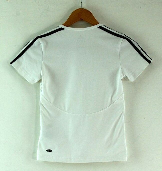 Back of Adidas Tshirt Womens
