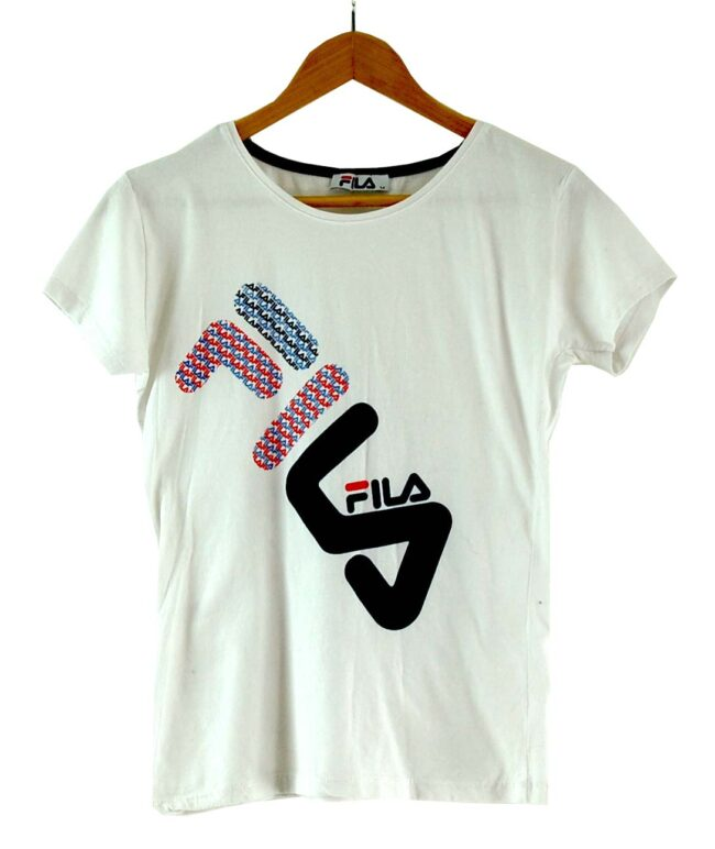 Womens Fila White T Shirt