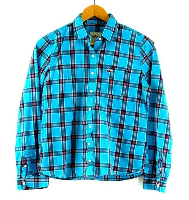 Womens Hollister Checkered Shirt