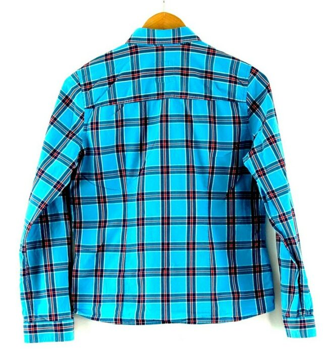 Back of Womens Hollister Checkered Shirt