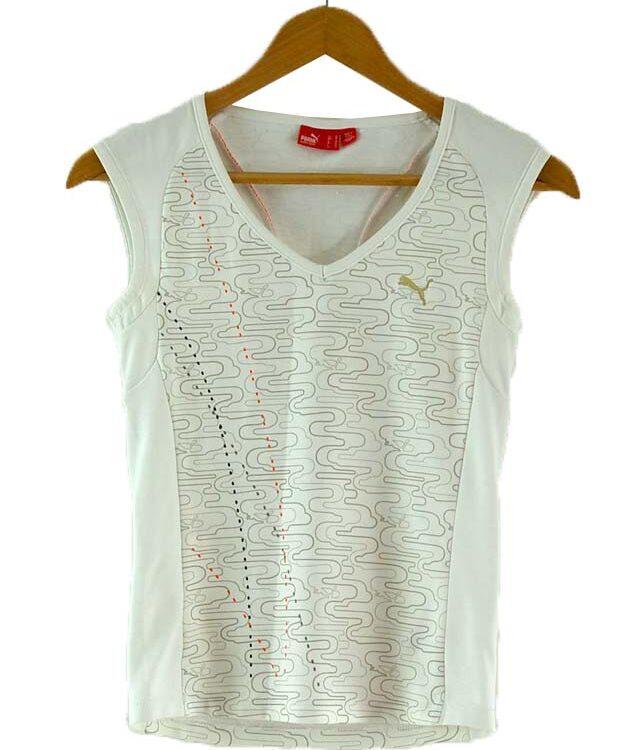White Vest Ladies Puma