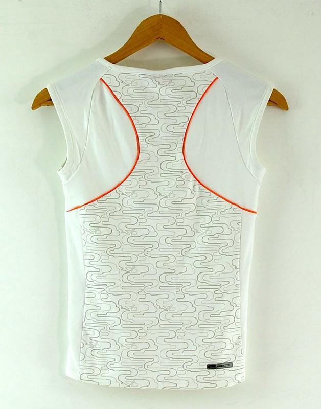 Back of White Vest Ladies Puma