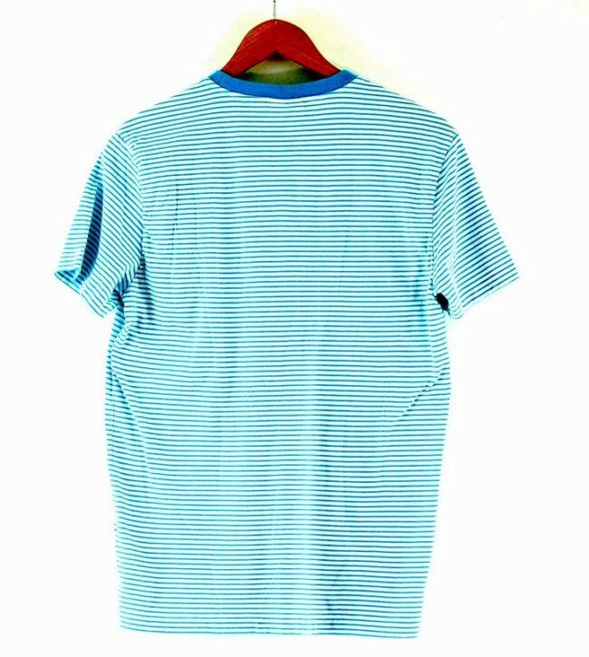 Back of Striped Calvin Klein Tshirt Womens
