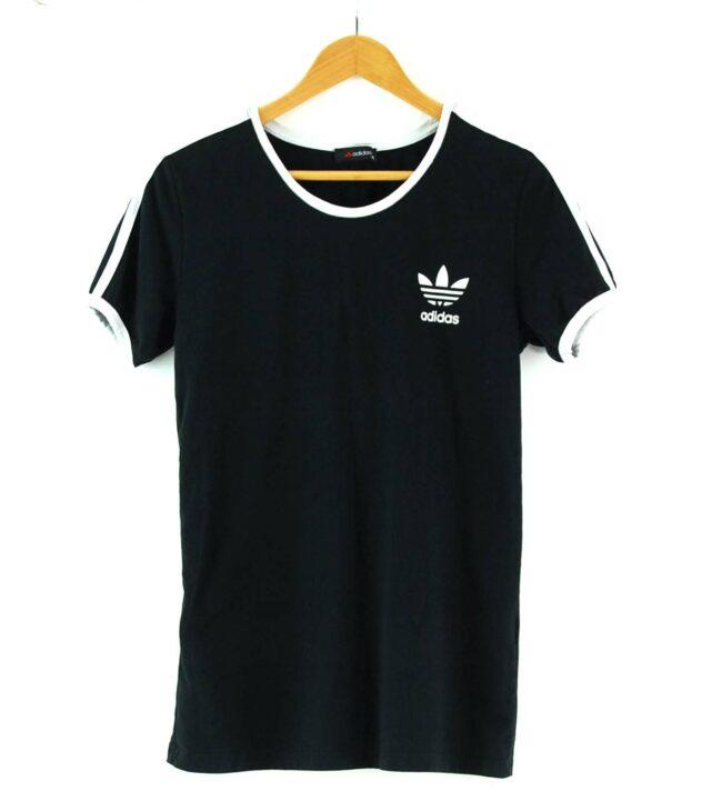 Adidas Stripes Tee Black
