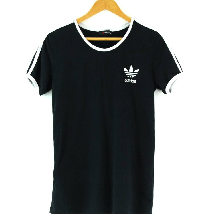 Adidas Stripes Tee Black