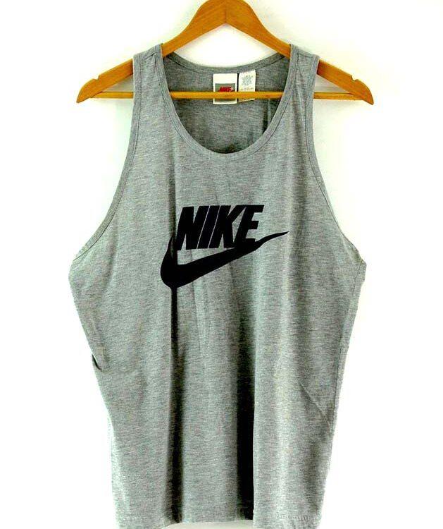 Mens Grey Nike Vest