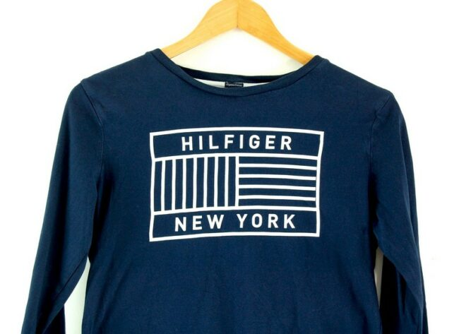 Close up of Hilfiger New York T Shirt