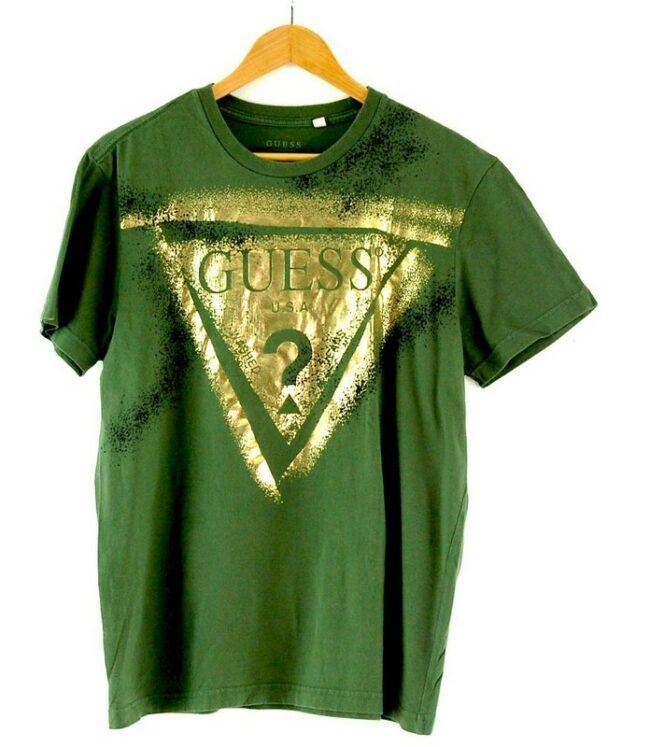 Guess Green T Shirt