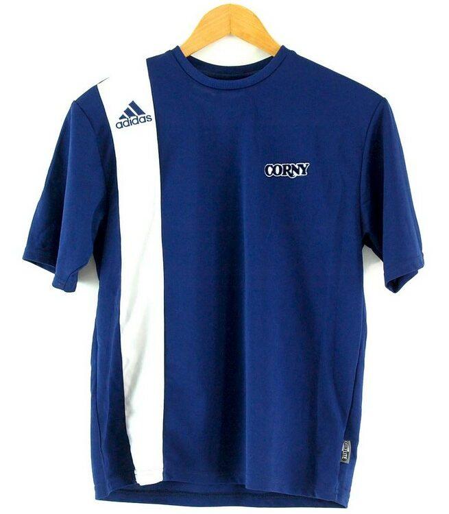 Blue Adidas T Shirt Mens