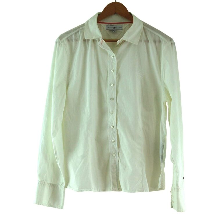 White Tommy Hilfiger Ladies Blouse