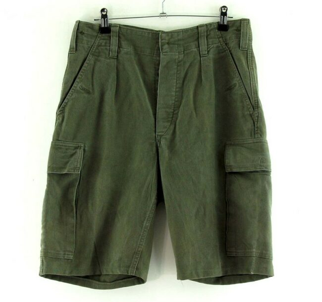 Olive Drab Army Combat Shorts From 1984