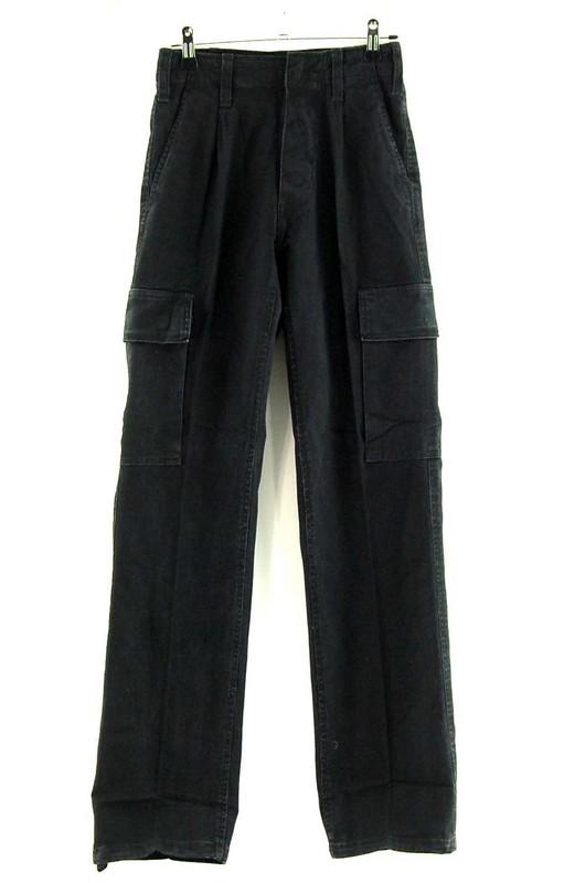 Womens Black German Army Moleskin Pants