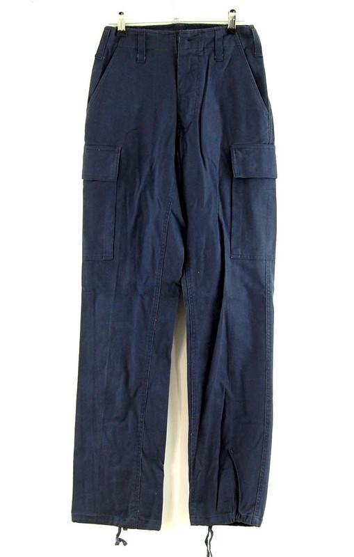 Womens Blue Combat Pants