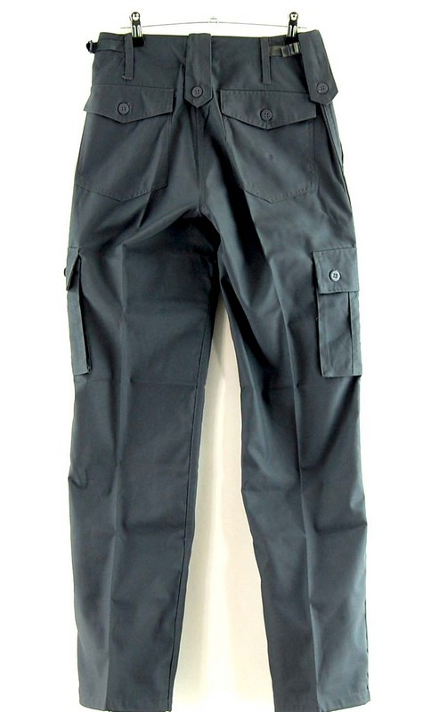 Back of Grey Army Pants